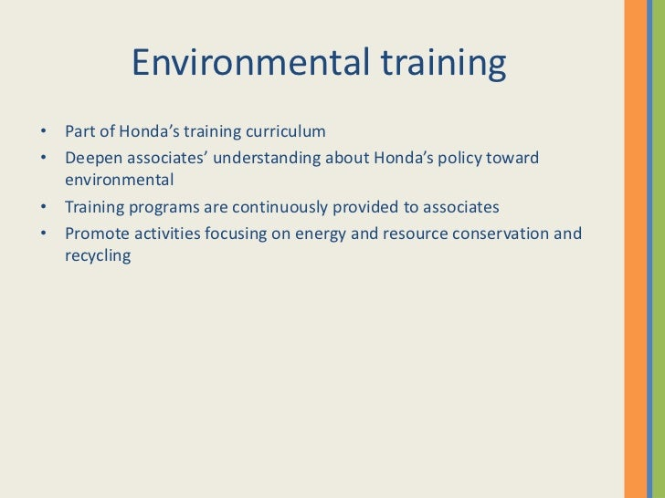 honda strategic plan What then has made honda excel so adeptly as a global multinational the secret strategic sauce that distinguishes honda from other manufacturers can be broken down into five ingredients.
