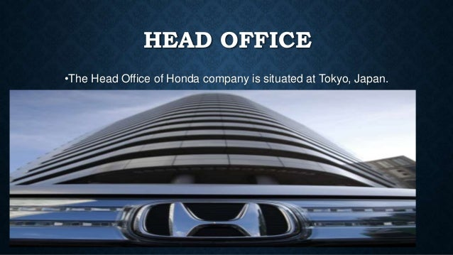 18 CEO OF HONDA