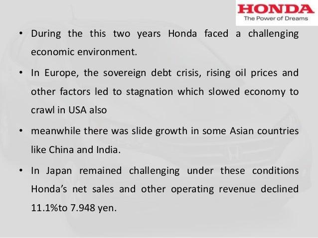 Honda Analysis 2011