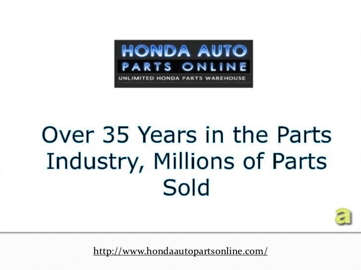 Amazing ... Dealer For Genuine Honda Parts And Accessories.  Http://www.hondaautopartsonline.com/ ...