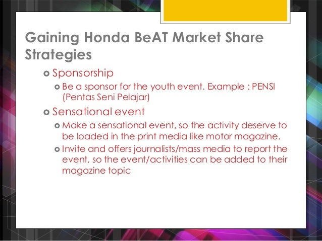brand audit honda Honda atlas cars pakistan limited is a joint venture between honda motor company limited japan, and the atlas group of companies, pakistan.