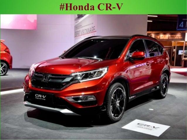 #Honda CR  ...