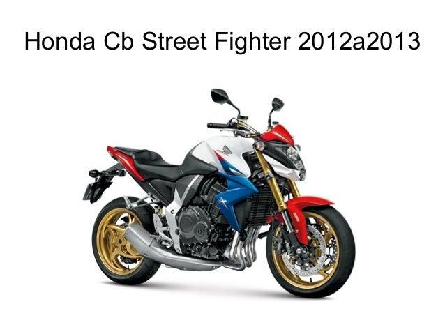 Honda Cb Street Fighter 2012a2013