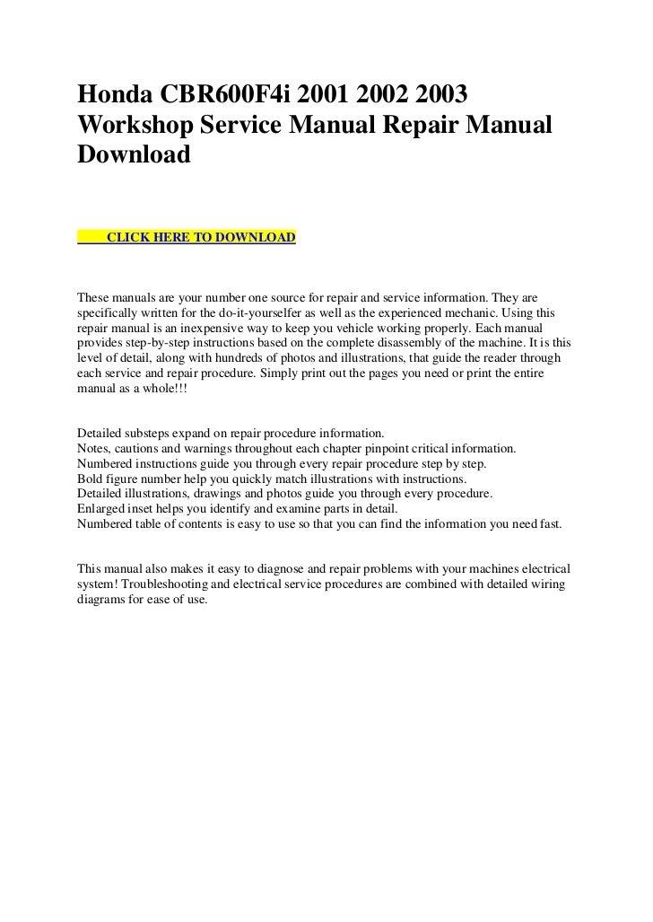 honda cbr600 f4i 2001 2002 2003 workshop service manual repair manual download 1 728?cb\\\\\\\=1312475042 2002 cbr600f4i wiring diagram great installation of wiring diagram \u2022