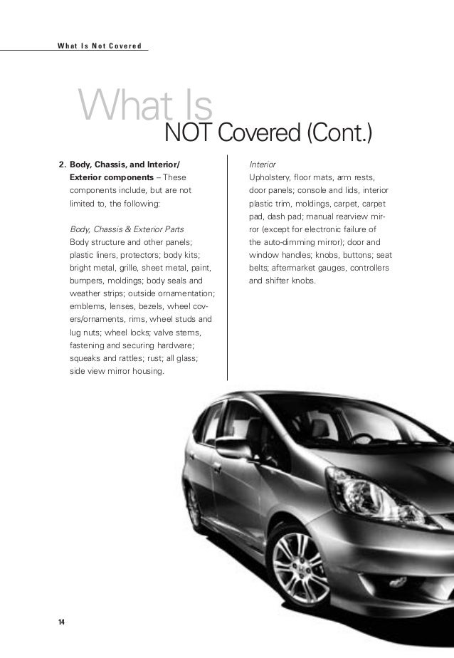 honda certified used cars warranty booklet for el paso las cruces a. Black Bedroom Furniture Sets. Home Design Ideas
