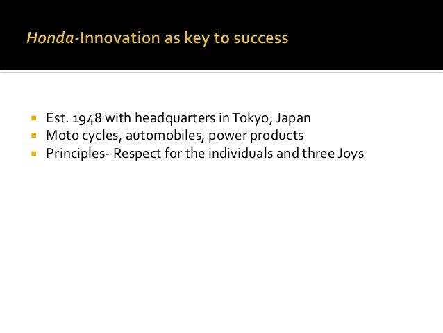 Honda completed Slide 2