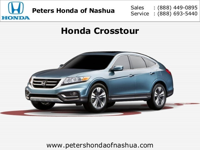 New and used honda crosstour peters honda of nashua nh for Manchester honda service