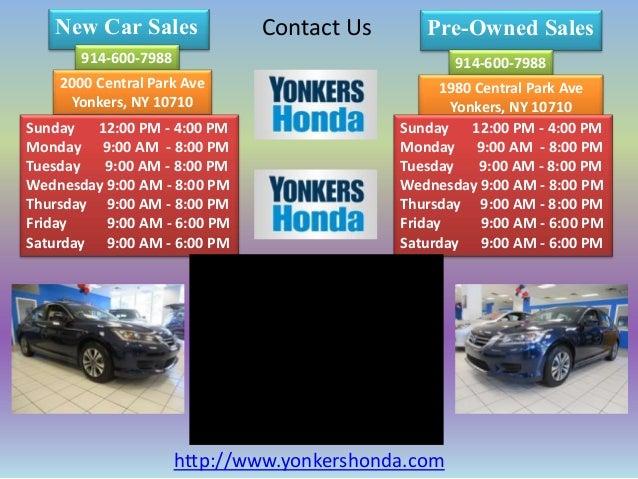 Yonkers Honda Service >> Honda Dealers In Yonkers Yonkers Honda