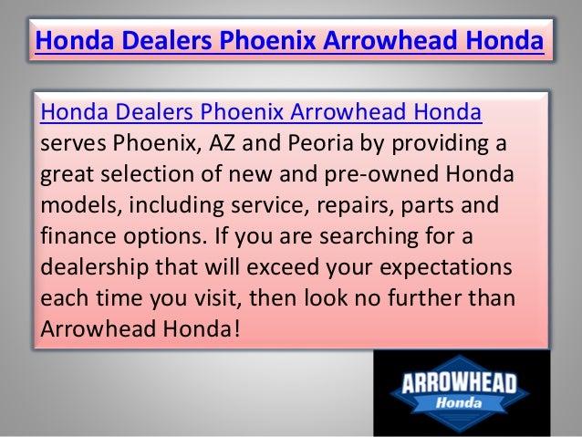 Arrowhead Honda Honda Dealers Phoenix Arrowhead Honda