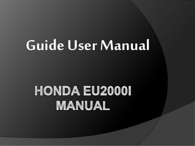honda eu2000i manual rh slideshare net honda eu2000i manuel francais honda eu2000i manual transfer switch