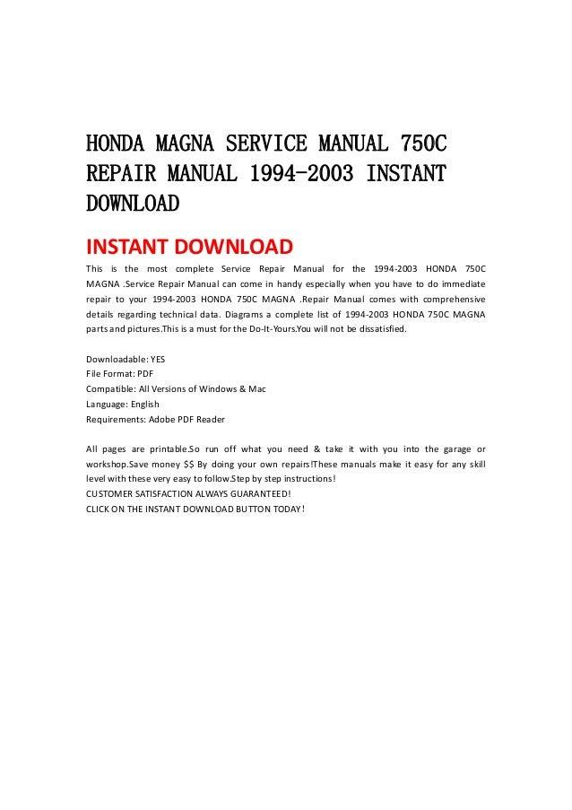 honda service manuals online