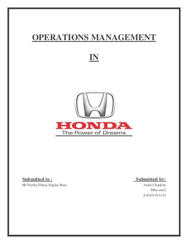 Operation Management Honda Atlas Motors Marine Offers A Wide Variety Of Gauges And Other Outboard