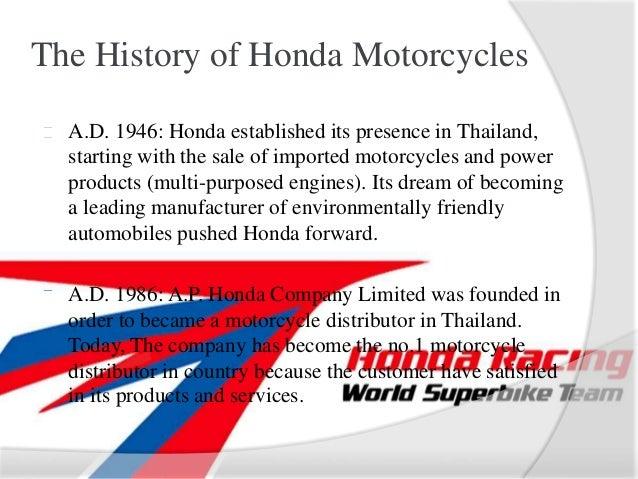 Honda Motorcycles V2