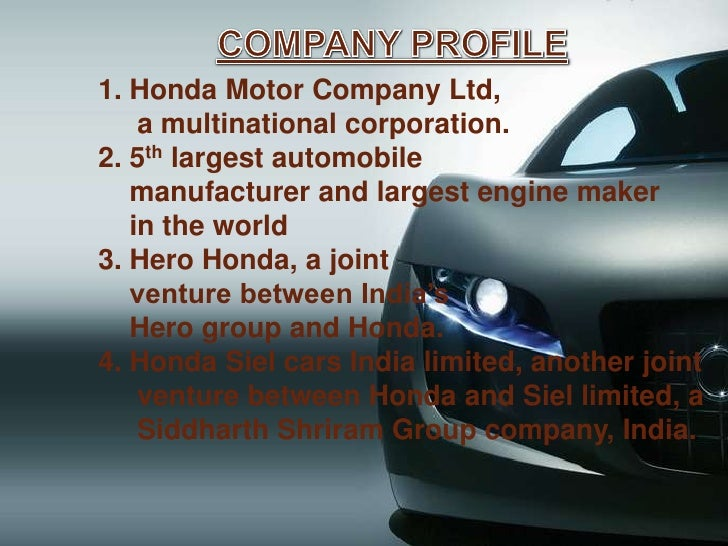 case study on hero honda motors india ltd is it honda that made it a hero Hero motocorp is india's leading two wheeler company with over 75 million two wheelers sold till date find out more about what makes hero motorcorp the #1 motorcycle company in india.