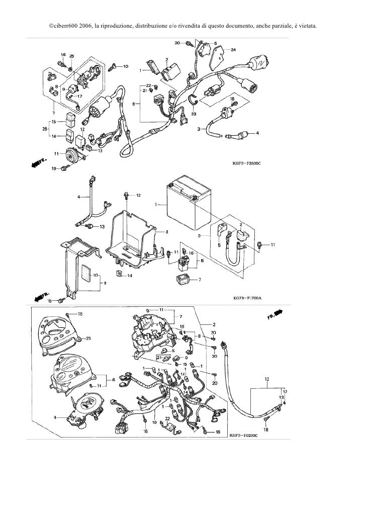 Schema Impianto Elettrico Honda Sh 125