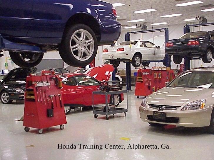 honda training center