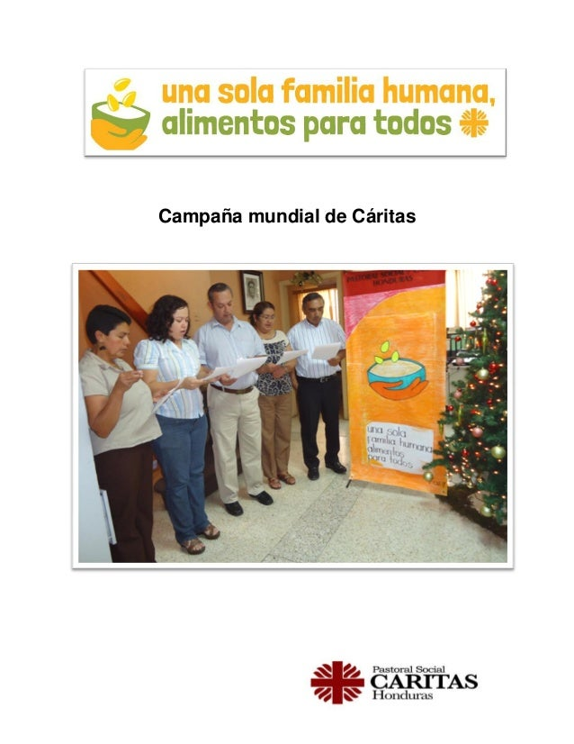 Campaña mundial de Cáritas  1