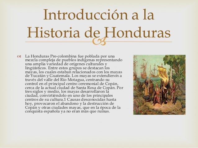 Honduras Historia