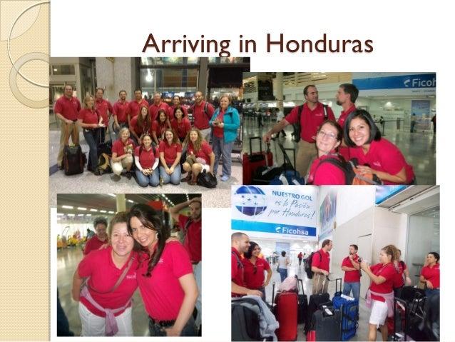 Arriving in Honduras