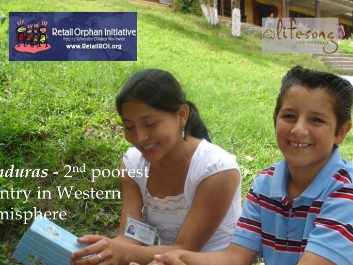 nduras - 2nd poorestntry in Westernmisphere