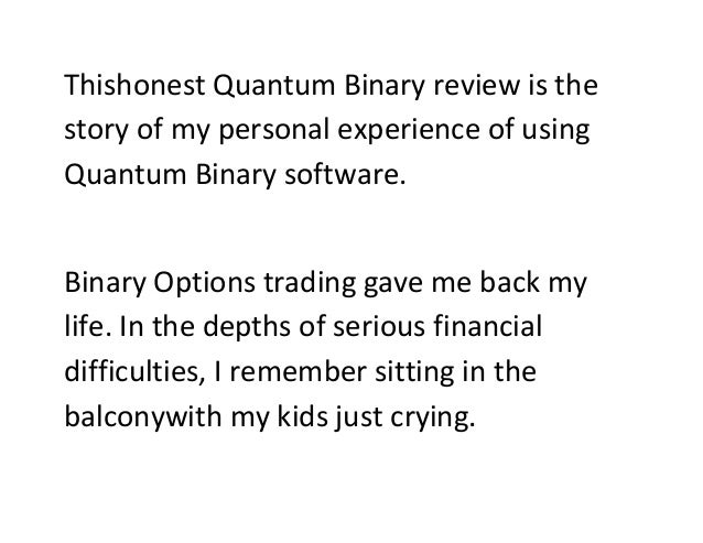 Quantum binary options review