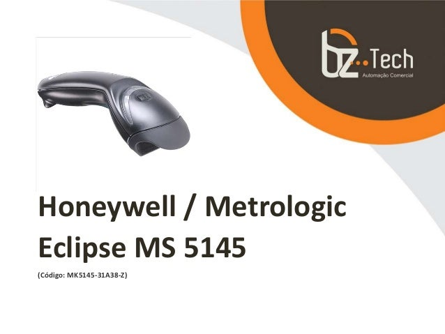 Honeywell / Metrologic Eclipse MS 5145 (Código: MK5145-31A38-Z)