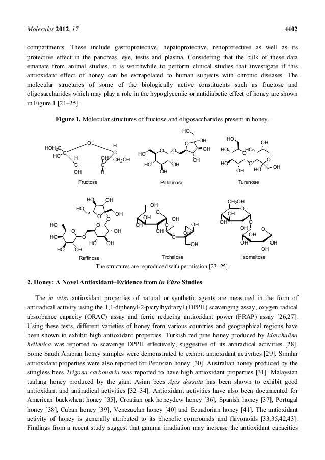 Honey: a Novel Antioxidant Slide 3