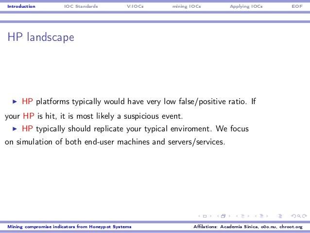 Honeycon2014: Mining IoCs from Honeypot data feeds
