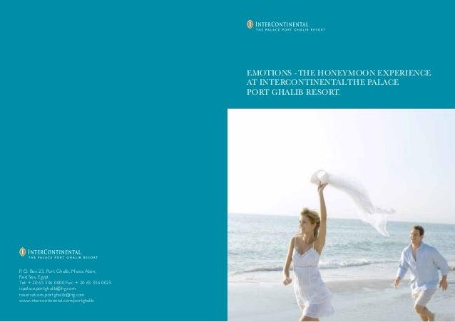 Honeymoon Packages Brochure EMOTIONS