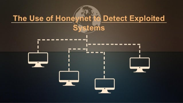The Use of Honeynet to Detect Exploited Systems