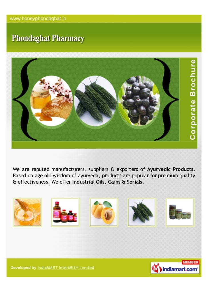 We are reputed manufacturers, suppliers & exporters of Ayurvedic Products.Based on age old wisdom of ayurveda, products ar...