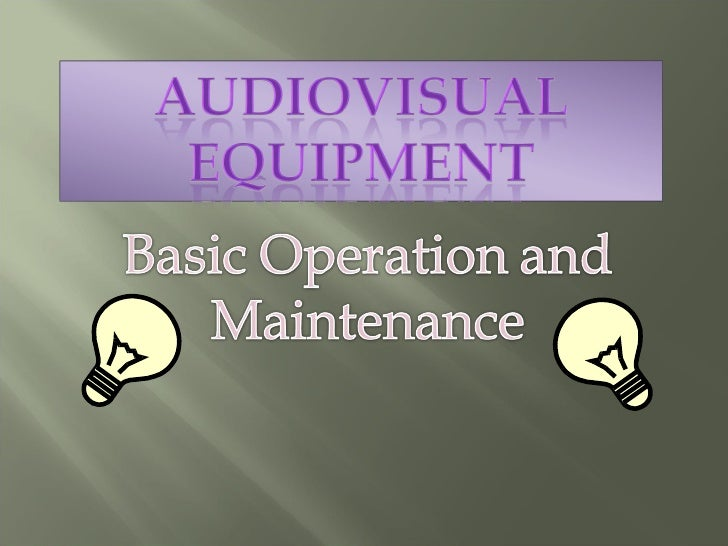 The equipment used to record images or                                  scenes. Used in any telecasts for the visual      ...