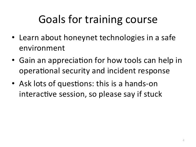 analysis of honeynets and honeypots for security Dr honeypots how i learned to  taxonomy of honeynets - gen1 : network of honeypots  detection/proactive-detection-of-security-incidents-ii-honeypots why.