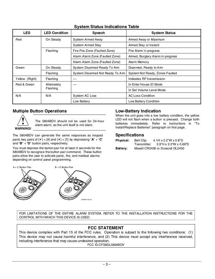 Honeywell 5804bdv-install-guide