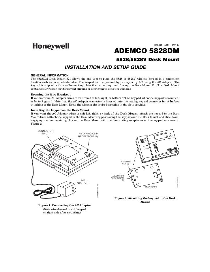 honeywell 5828dm