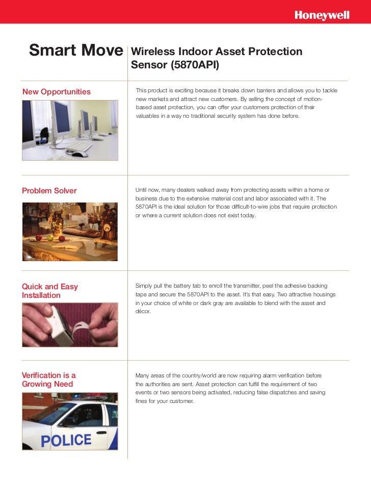 Honeywell 5870api-dealer-benefits-brochure