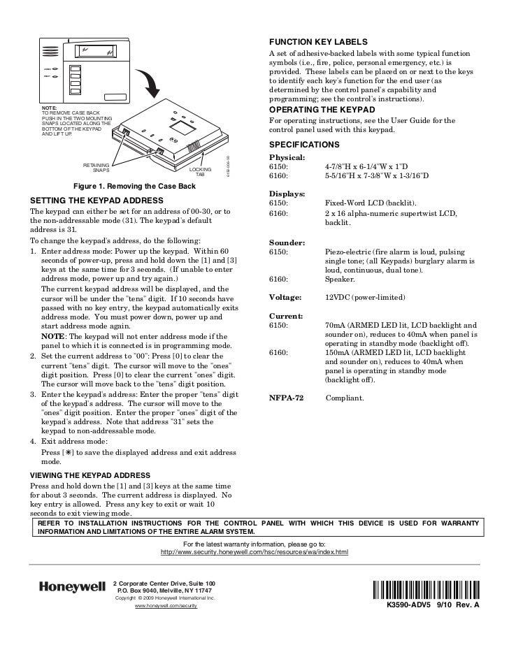 ademco 6150 manual