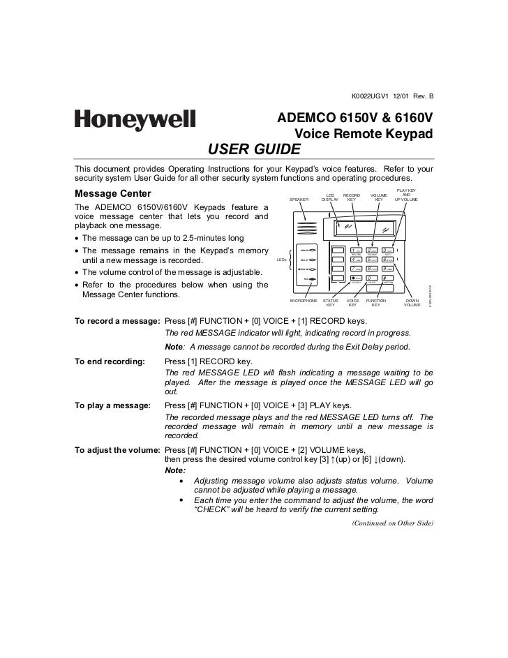 honeywell 6160 user manual how to and user guide instructions u2022 rh taxibermuda co honeywell 6160 user manual pdf honeywell 6160 installation manual
