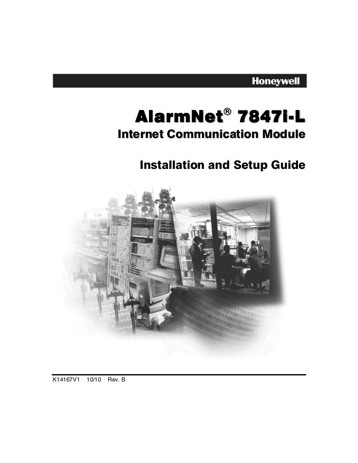 AlarmNet! 7847i-L                      Internet Communication Module                            Installation and Setup Gui...
