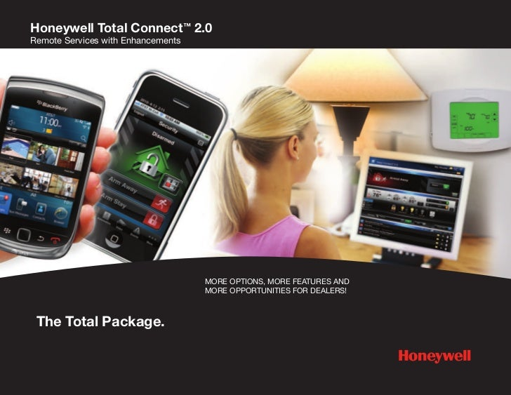 Honeywell Total Connect™ 2.0Remote Services with Enhancements                                    MORE OPTIONS, MORE FEATUR...