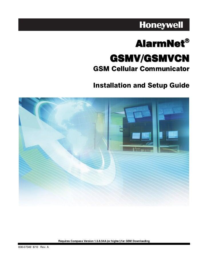AlarmNet                                                             GSMV/GSMVCN                                         ...