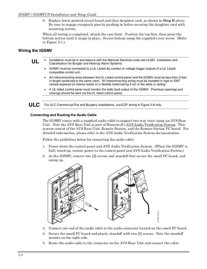 Honeywell igsmv-install-guide