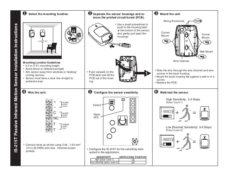 on alarm motion sensor wiring diagram