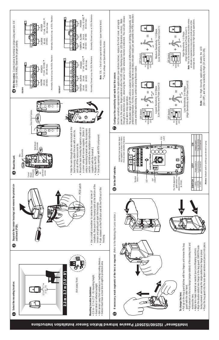 honeywell is2560installguide 1 728?cb=1344339608 honeywell is2560 install guide honeywell pir sensor wiring diagram at webbmarketing.co