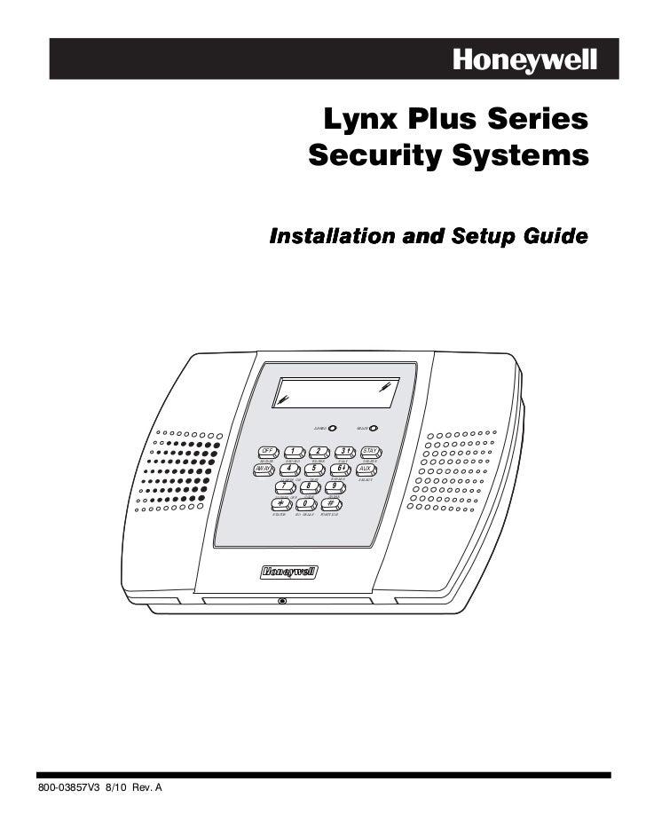 honeywell l3000 install guide rh slideshare net lynx plus user manual honeywell lynx plus installation manual