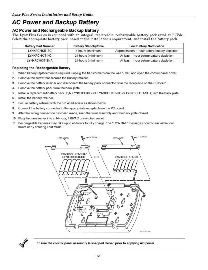 honeywell l3000 install guide rh slideshare net lynx plus user guide honeywell lynx plus installation manual