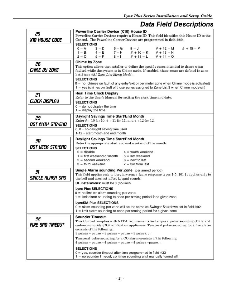 honeywell l3000 install guide rh slideshare net ademco lynx plus programming guide lynx plus installation manual