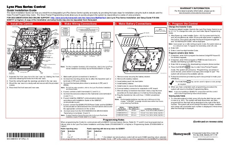 honeywell l3000 quick install guide 1 728?cb=1344338778 honeywell l3000 quick install guide honeywell lynx wiring diagram at edmiracle.co