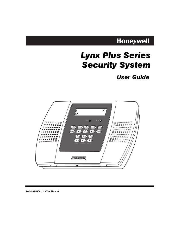honeywell l3000 user guide rh slideshare net Honeywell 3000 Thermostat honeywell lynx plus l'3000 manual