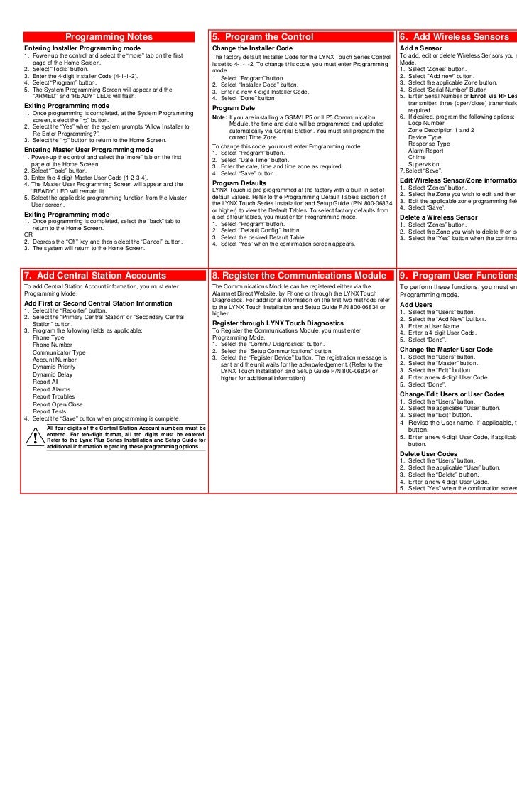 Honeywell Installation Guide Good Owner Website Thermostat Wiring L5000 Quick Install Rh Slideshare Net Evohome